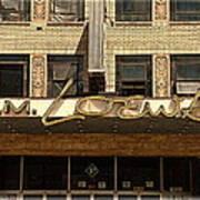 E M Loews Theater Poster