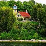 Eagle Bluff Lighthouse Of Door County   Poster