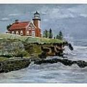 Eagle Harbor Lighthouse Poster