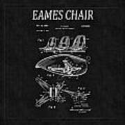Eames Chair Patent 4 Poster