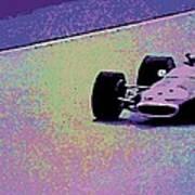 Early 60's Era Formula 1 Race Poster