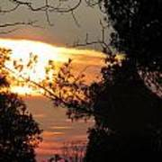 Early Feb 9 2013 Sunset Poster