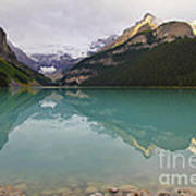 Early Morning At Lake Louise Poster