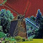 Early Morning At The Mill Poster