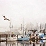 Early Morning Newport Oregon Poster
