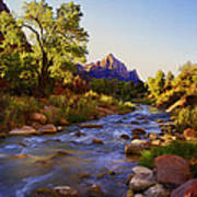Early Morning Sunrise Zion N.p. Poster