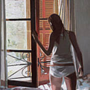 Early Morning Villa Mallorca Poster
