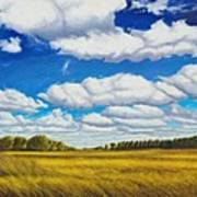 Early Summer Clouds Poster