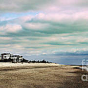 Early Morning Townsends Inlet  Cape May Poster