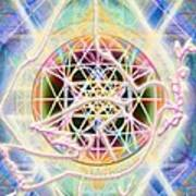 Earth Water Spirit Madonna Peace Matrix Poster