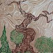 Earthen Tree Poster