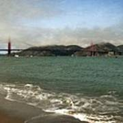 East Beach And Golden Gate Poster