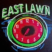 East Lawn Poster