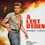 East Of Eden, French Poster Art, James Poster