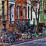 East Village Bicycles Poster