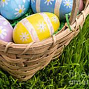 Easter Basket Poster by Edward Fielding