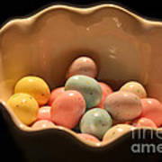 Easter Candy Malted Milk Balls I Poster
