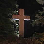Easter Cross Poster