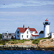 Eastern Point Lighthouse Poster