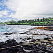 Eastern Shore Of Maui Poster