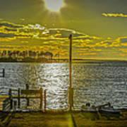 Eastern Shore Sunset Poster
