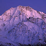 Eastern Side Of Mt Cook Pre-dawn Poster