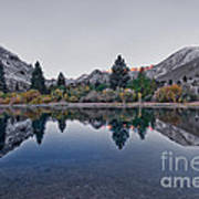 Eastern Sierras Reflection Poster