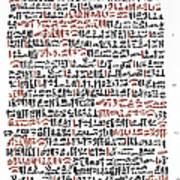 Ebers Papyrus, C1550 B.c Poster
