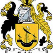 Echlin Coat Of Arms Irish Poster