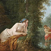Echo And Narcissus Poster