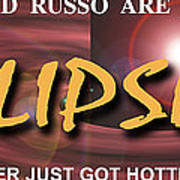 Eclipse Faux Movie Banner Poster