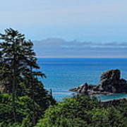 Ecola State Park Overlook  Poster