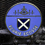 Ecurie Ecosse Badge Poster