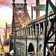 Queensboro Bridge Poster