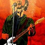 Eddie Vedder-eddie Live Poster by Bill Manson