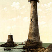 Eddystone Lighthouse Plymouth England Poster