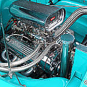 Edelbrock In A Chevy 3100 Hotrod Poster