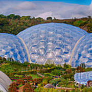 Eden Project Biomes Poster