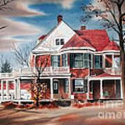 Edgar Home Poster by Kip DeVore