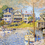 Edgartown  Martha's Vineyard Poster by Colin Campbell Cooper