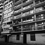 edificio general norambuena mutualidad de carabineros Santiago Chile Poster