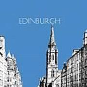 Edinburgh Skyline The Royal Mile - Slate Poster