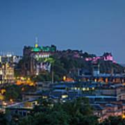 Edinburgh Twilight Poster
