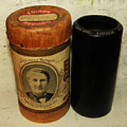 Edison Phonograph Cylinder 9750 Comic Song  Garibaldi  Poster by Bill Cannon