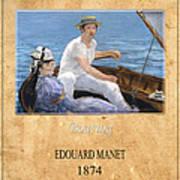 Edouard Manet 4 Poster