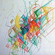 Education 1 Poster by David Baruch Wolk