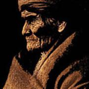Edward S. Curtis Photograph Of Geronimo Carlisle Pennsylvania 1905-2013 Poster