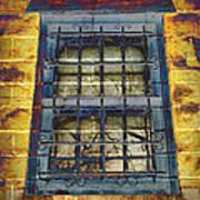 Eerie Window Poster