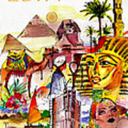 Egypt Poster by George Rossidis
