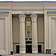 Egyptian Building On Vcu Campus - Richmond Virginia Poster